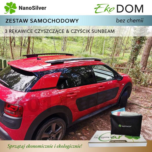 raypath nanosilver car set zestaw samochodowy