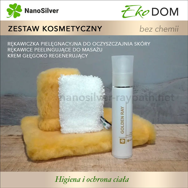 raypath zestaw kosmetyczny nanosilver eko naturalne kosmetyki