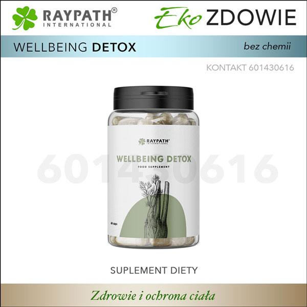 Raypath Wellbeing DETOX naturalne suplementy diety