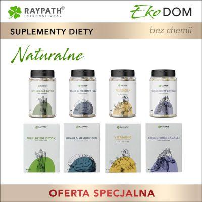naturalne suplementy diety raypath promocja