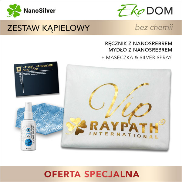 raypath promocja eko kosmetyki z nanosrebrem