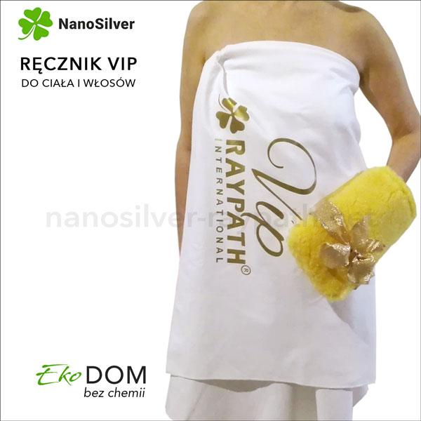 ręcznik vip z nanosrebrem raypath