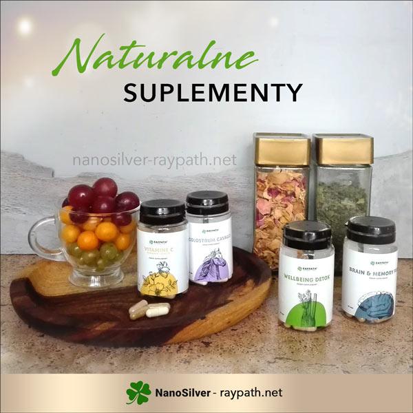Ziołowe suplementy diety Raypath