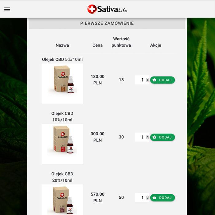 jak kupić SativaLife